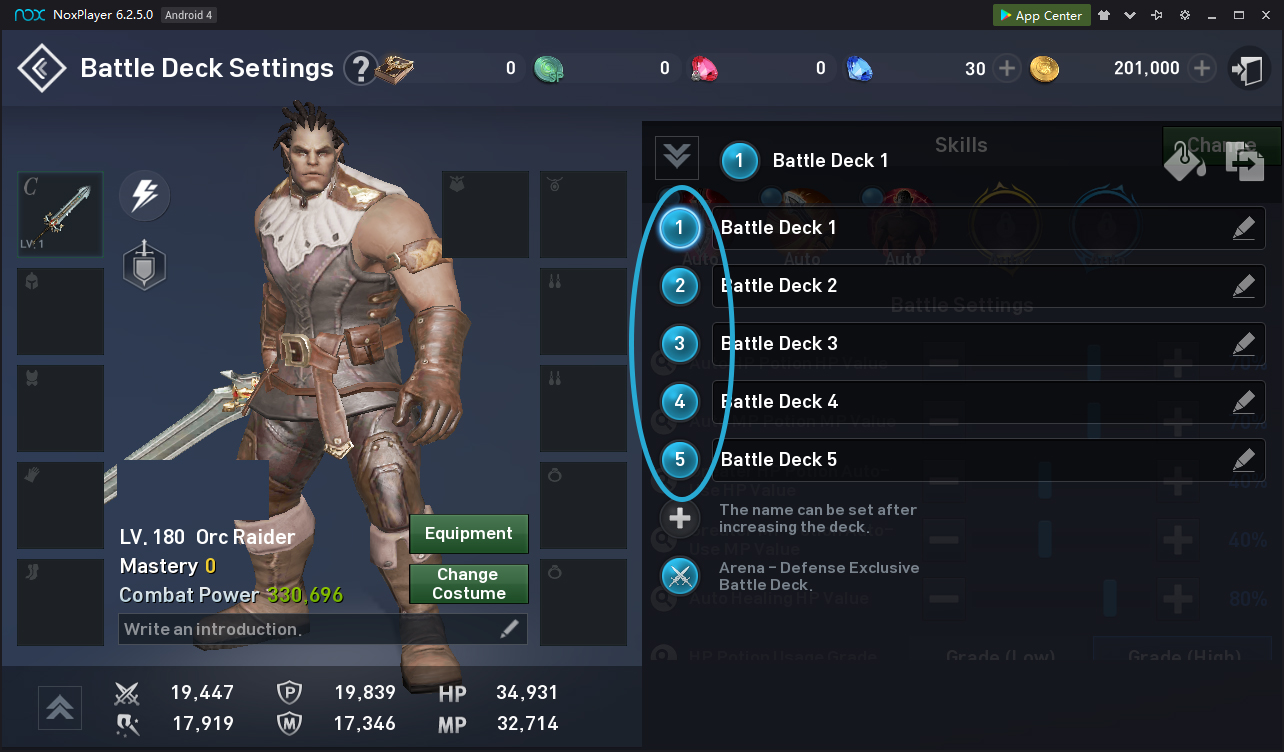 Instructions for setting up the bot for Lineage 2 Revolution